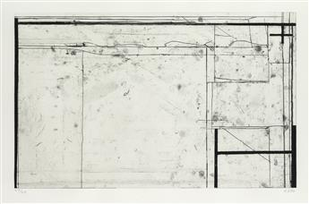 RICHARD DIEBENKORN Softground Cross.
