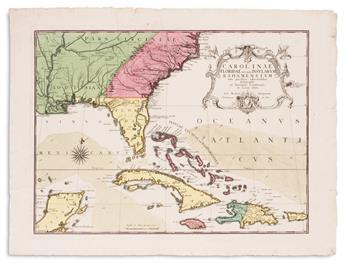 CATESBY, MARK; and SELIGMANN, JOHANN MICHAEL. Carolinae Floridae nec non Insularum Bahamensium.