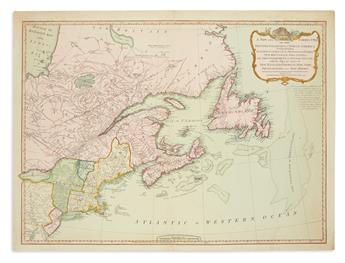 LAURIE & WHITTLE. A New and Correct Map of the British Colonies in North America.
