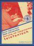 PIET ZWART (1885-1977) ONTVANG UW TELEGRAMMEN TELEFONISCH. 1932. 9x7 inches.