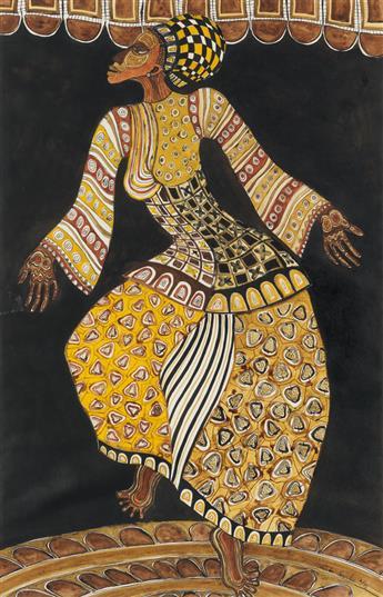 CHARLES SEARLES (1937 - 2004) Untitled (Dancer Series).