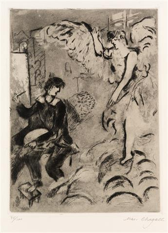MARC CHAGALL The Apparition, I.