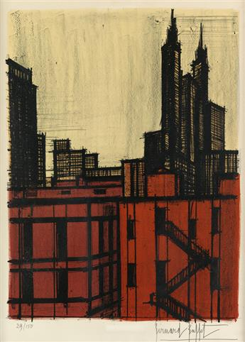 BERNARD BUFFET New York VII.