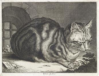 CORNELIS VISSCHER The Large Cat.