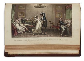 CRUIKSHANK, GEORGE and ISAAC (illustrators). Egan, Pierce. Life in London.
