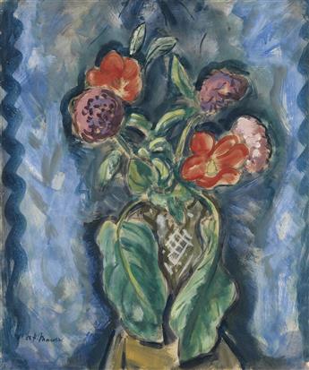 ALFRED H. MAURER Flowers in a Vase.