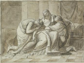 ROMAN SCHOOL, 18TH CENTURY The Death of Sophonisba.