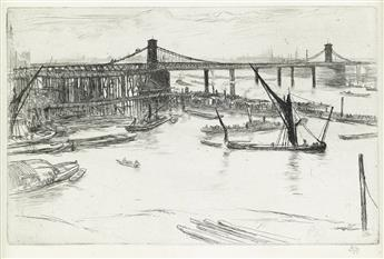JAMES A. M. WHISTLER Old Hungerford Bridge.