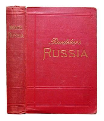 BAEDEKER, KARL, publisher. Russia. With Teheran, Port Arthur, and Peking.  1914