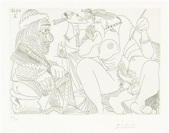 PABLO PICASSO Series 347:310 (Raphael et la Fornarina XVI).