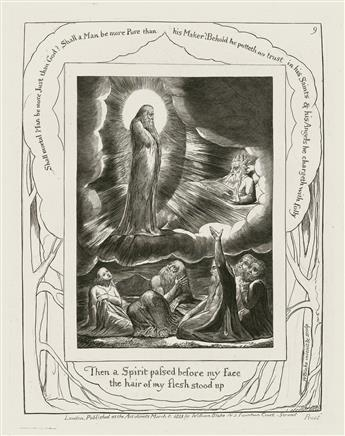 BLAKE, WILLIAM. Illustrations of the Book of Job.