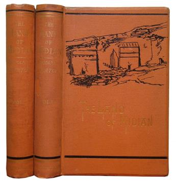 BURTON, RICHARD FRANCIS, Sir. The Land of Midian (Revisited).  2 vols.  1879