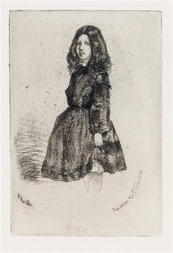 JAMES A. M. WHISTLER Three etchings.