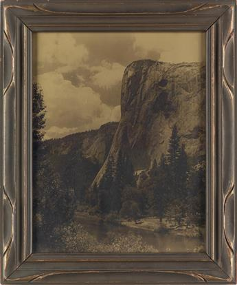 ARTHUR C. PILLSBURY (1870-1946) A pair of orotones from Yosemite.