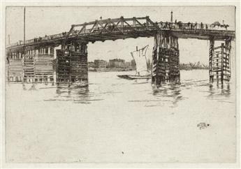 JAMES A. M. WHISTLER Old Battersea Bridge.