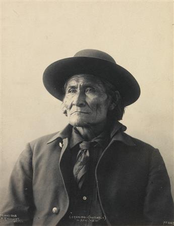 FRANK A. RINEHART (1861-1928) Geronimo (Guiyatle), Apache * Chief American Horse, Sioux * Chief Red Cloud.