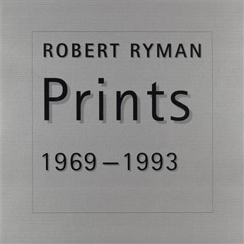 RYMAN, ROBERT / CONTEMPORARY ART / PARASOL PRESS. Prints 1969-1993.