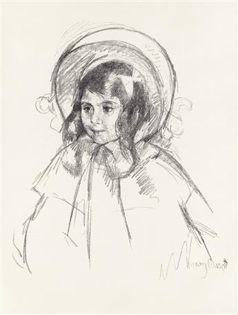 MARY CASSATT Sara Wearing her Bonnet and Coat.