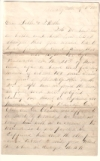 Civil War. PATRICK, ROBERT E. Small archive of Autograph Letters Signed,