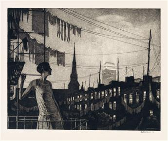 MARTIN LEWIS Glow of the City.