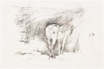 JAMES A. M. WHISTLER Study of a Horse.