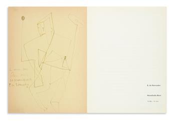 KERMADEC, EUGENE DE. Exhibition Kunsthalle Bern 10 Mai-15 Juni [1958].