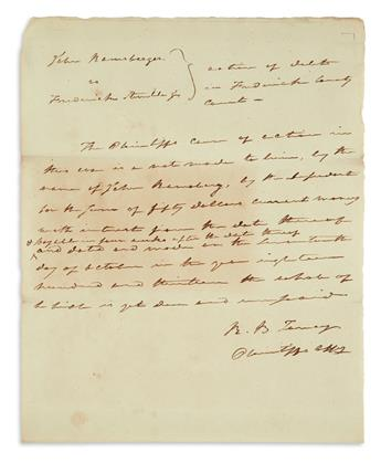 (SUPREME COURT.) Group of 6 items Signed, or Signed and Inscribed, by U.S. Supreme Court Justices. Format and co...
