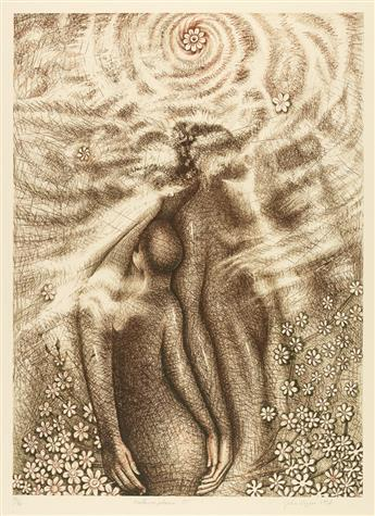 JOHN BIGGERS (1924 - 2001) Metamorphosis III.