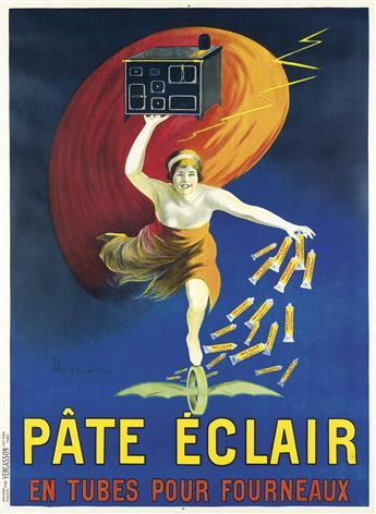 LEONETTO CAPPIELLO (1875-1942). PÂTE ÉCLAIR. 1912. 62x45 inches, 157x114 cm. Vercasson, Paris.