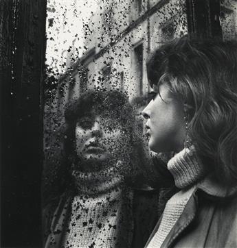 ED VAN DER ELSKEN (1925-1990) Vali Meyers voor de spiegel, Saint Germain des Pres.