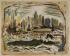 JOHN MARIN (AFTER) Manhattan Skyline.