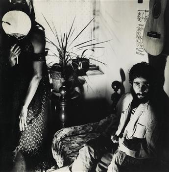 JACK SMITH (1932-1989)  Mario Montez and Piero Heliczer.