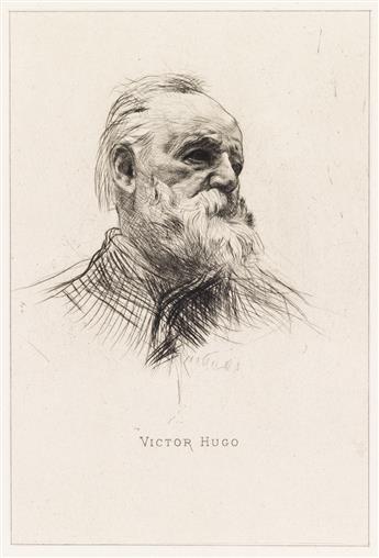 AUGUSTE RODIN Victor Hugo, de trois quarts.