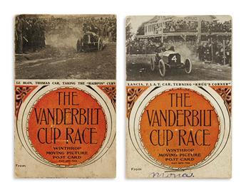 (AUTOMOTIVE.) The Vanderbilt Cup Race Winthrop Moving Picture Post Card.