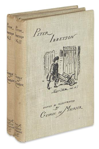 DU MAURIER, GEORGE. Peter Ibbetson.