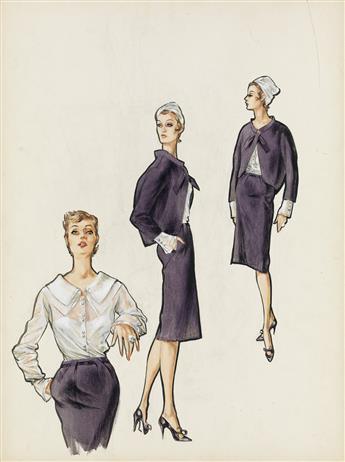 (FASHION) MARY ANN NYBERG. Day Wear.