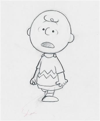 (CARTOON / ANIMATION)  BILL MELENDEZ STUDIOS. Charlie Brown.