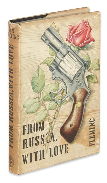 FLEMING, IAN. From Russia with Love.