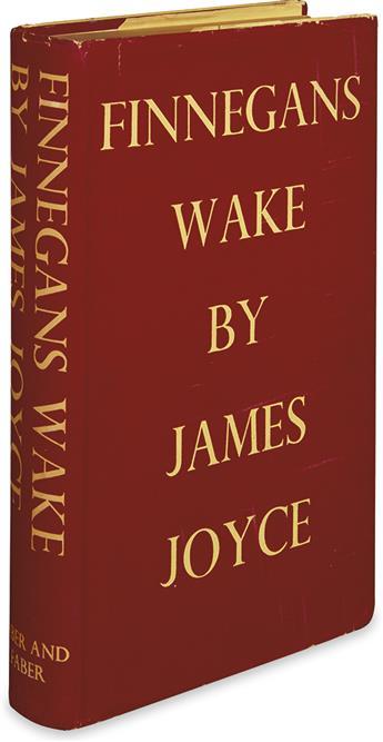 JOYCE, JAMES. Finnegans Wake.