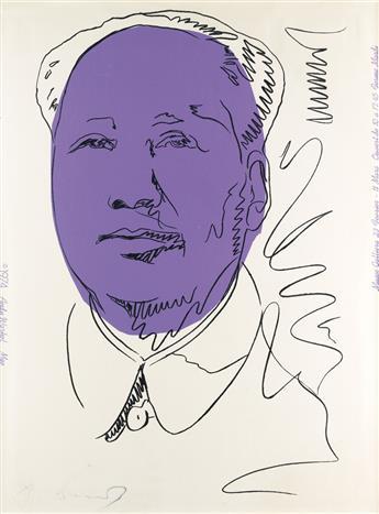 ANDY WARHOL Mao.