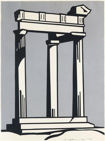 ROY LICHTENSTEIN Temple.