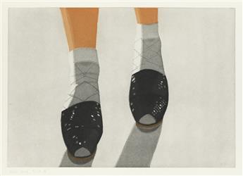 ALEX KATZ Black Shoes.