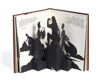 KARA WALKER (1969 -   ) Freedom, A Fable: A Curious Interpretation of the Wit of a Negress in Troubled Times.