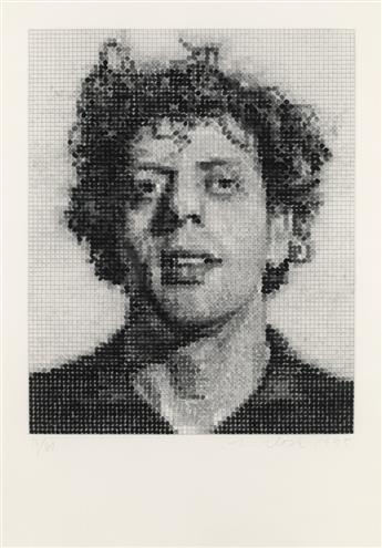 CHUCK CLOSE Phil/Spitbite.