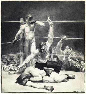 GEORGE BELLOWS Counted Out, First Stone.
