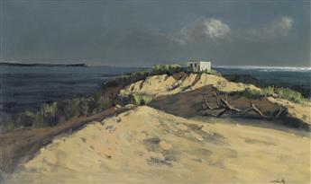 HUGHIE LEE-SMITH Coastal Landscape.
