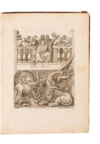 AESOP.  Les Fables dEsope. 1743