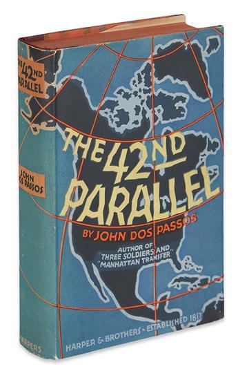 DOS PASSOS, JOHN. [U.S.A. Trilogy] The 42nd Parallel * 1919 * The Big Money.