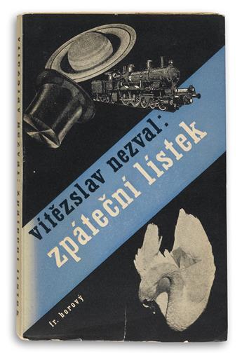 (DESIGN.) Teige, Karel. Group of 15 volumes with designs by Teige.