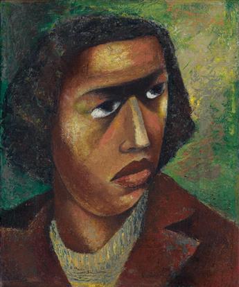 ELIZABETH CATLETT (1915 - 2012) Head of a Woman (Woman).